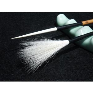 書道筆 超長鋒 羊毫 創作用 径 0.6cm 長 9.0cm|ryokufuu