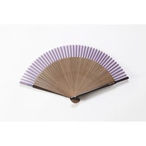 短地扇子 藤 専用扇子入れ付き|ryokushusen