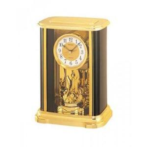 SEIKO セイコー 置き時計/クオーツクロック 回転飾りつき BZ314G【未使用】|ryoshin-online-shop