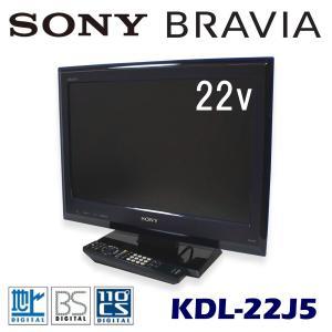 中古 液晶テレビ 22V型 ソニー ブラビア KDL-22J5 サファイアブルー|ryoshin-online-shop