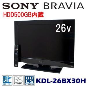 中古 液晶テレビ 26V型 ソニー ブラビア KDL-26BX30H HDD500GB内蔵|ryoshin-online-shop