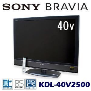 中古 液晶テレビ 40V型 ソニー ブラビア KDL-40V2500|ryoshin-online-shop