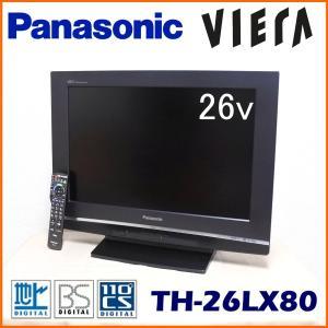 中古 Panasonic パナソニック VIERA ビエラ 26V型 液晶テレビ TH-26LX80-H|ryoshin-online-shop