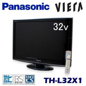 中古 液晶テレビ 32V型 パナソニック ビエラ TH-L32X1-K ディープブラック|ryoshin-online-shop