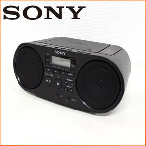 中古 SONY ソニー CDラジオ ZS-S40 ブラック オーディオ|ryoshin-online-shop