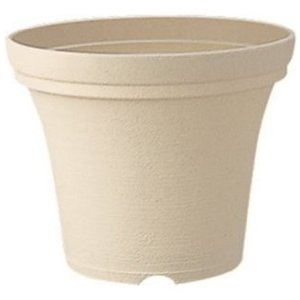 Richell リッチェル ノヴェル ポット 40型 φ400×320H ベージュ 寄せ植え鉢|ryoshindoshop