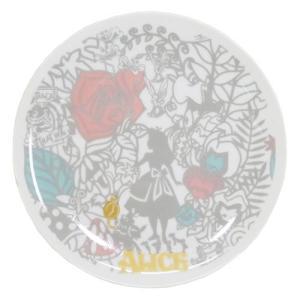 ふしぎの国のアリス ラウンドプレート カッティングアート 丸皿 19.5cm 3212-13 不思議の国のアリス ディズニー 専用箱入り|ryoshindoshop