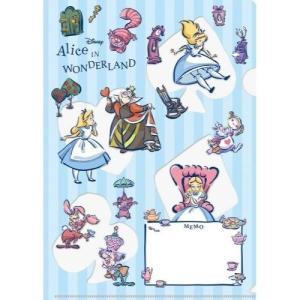 ふしぎの国のアリス 書けるクリアファイル CF-005 ディズニー 不思議の国のアリス キャラクター文房具|ryoshindoshop