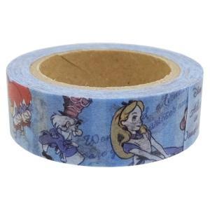 ふしぎの国のアリス 和紙クラフトテープ マスキングテープ 2種 ALICE アリス・コミック 不思議の国のアリス|ryoshindoshop