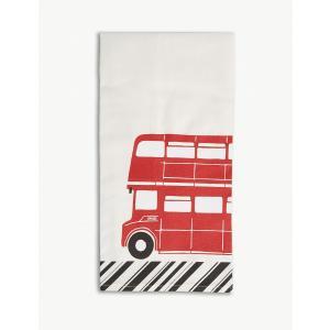 Alice Tait アリス・テイト ロンドンバス コットンティータオル RED BUS Routemaster Bus Tea Towel|ryoshindoshop