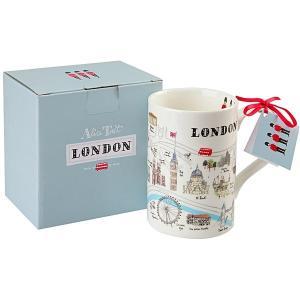 Alice Tait アリス・テイト ロンドンマップ マグカップ  英国輸入雑貨 ギフトボックス 箱入り イギリス人気 London Map Mug|ryoshindoshop
