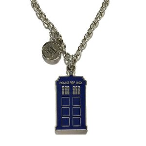 BBC公式 ドクターフー ターディス ネックレス Doctor Who Tardis Necklace 海外ドラマ グッズ|ryoshindoshop