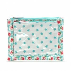 キャスキッドソン Cath Kidston ダブルコスメポーチ Double Make Up Bag 415088 イギリス 輸入雑貨|ryoshindoshop