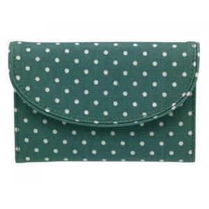 キャスキッドソン Cath Kidston 二つ折り財布 Mini Dot Folded Curve Wallet 542487|ryoshindoshop