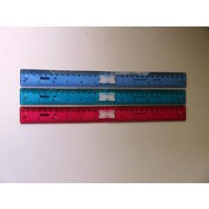 Helix へリックス カラー折りたたみ定規 センチ・インチ表示 30cm/12inch Folding Ruler J05112 イギリス雑貨 ルーラー ものさし 海外文房具|ryoshindoshop
