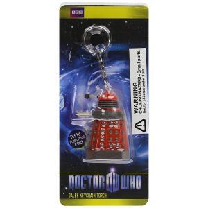 BBC ドクターフー ダーレク キーチェーン トーチ Doctor Who Dalek Keychain Torch ライト付きキーリング 海外ドラマ|ryoshindoshop