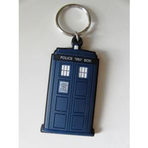 BBC ドクターフー ターディス キーリング ラバー Doctor Who Tardis Keyring 海外ドラマ グッズ|ryoshindoshop