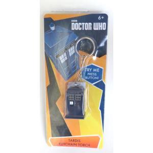 BBC ドクターフー ターディス キーチェーン トーチ Doctor Who Tardis Keychain Torch ライト付きキーリング 海外ドラマ|ryoshindoshop