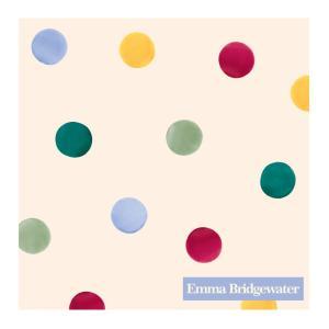 1枚ばら売り Emma Bridgewater (エマ・ブリッジウォーター)IHR(イア) ペーパーナプキン Polka Dot ポルカドット カクテルナプキン 25x25 デコパージュ 単品|ryoshindoshop
