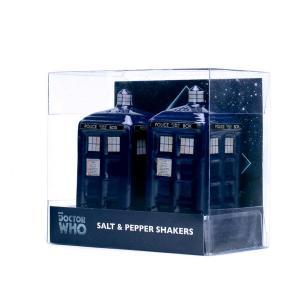BBC公式 Doctor Who ドクターフーTardis ソルト&ペッパーシェイカー SALTDW01 塩コショウ入れ 海外ドラマ グッズ|ryoshindoshop