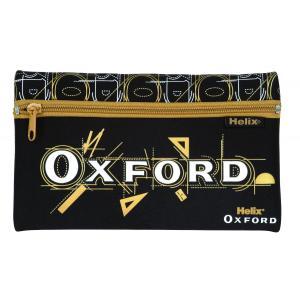 Helix Oxford へリックス・オックスフォードペンケース 黒 オックスフォード 9