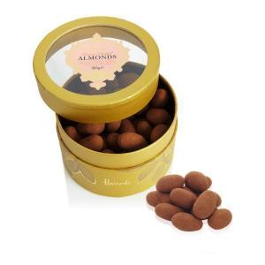 Harrods (ハロッズ) ナッツチョコレート  ミルクチョコレートコーティングアーモンド ココアがけ 325g 英国ブランド イギリス|ryoshindoshop