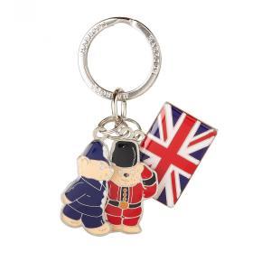 Harrods(ハロッズ) キーリング ガードマンベアとユニオンジャック Guardsman and Flag 2282102 イギリス 輸入雑貨|ryoshindoshop