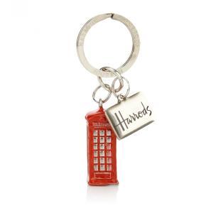 Harrods(ハロッズ) キーリング 電話ボックス 3D Phone Box Keyring 英国王室御用達 イギリス 輸入雑貨|ryoshindoshop