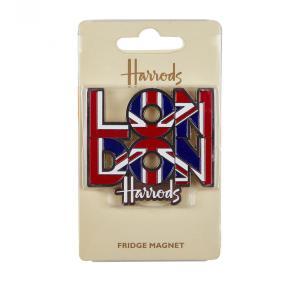 Harrods(ハロッズ)ロンドンメタルマグネット London Metal Magnet 2897801 英国 イギリス 輸入雑貨|ryoshindoshop