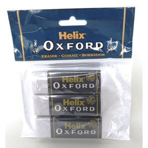 Helix Oxford へリックス・オックスフォード 消しゴム 大 3個パック Large Sleeved Erasers YS2071 スリーブ付き消しゴム イギリス 海外文房具 ryoshindoshop