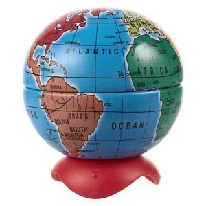 Maped マペッド 地球儀型鉛筆削り Globe Pencil Sharpener 051110 おもしろ文房具 雑貨 ヨーロッパ 海外文房具 ryoshindoshop