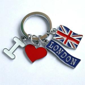 ロンドン メタル キーリング キーホルダー I・ハート・LONDON・ユニオンジャック 英国輸入雑貨 イギリス人気|ryoshindoshop