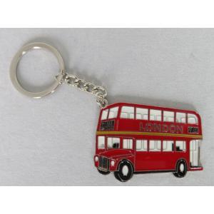 ロンドン メタル キーリング キーホルダー ロンドンバス#7 英国輸入雑貨 イギリス ryoshindoshop