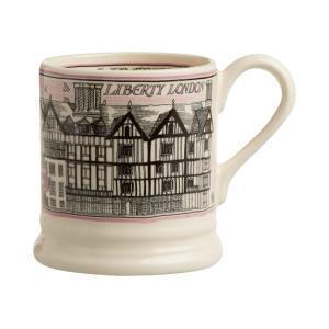 Emma Bridgewater (エマ・ブリッジウォーター) リバティ 限定 マグカップ Liberty Building Half Pint Mug 英国輸入雑貨|ryoshindoshop