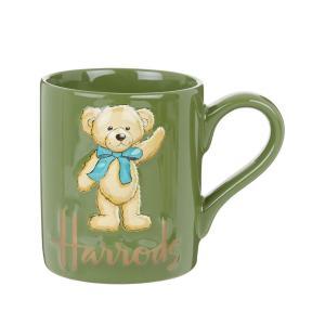 ハロッズ Harrods くまのルーファス 立体 マグカップ 3D Rufus Bear Mug テディベア ティー用品 英国王室御用達|ryoshindoshop