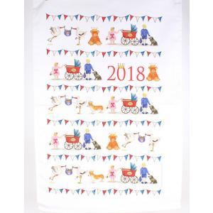 Milly Green ロイヤルベビー ティータオル ルイ王子 お誕生記念 2018 ミリーグリーン Royal Baby Tea Towel 英国製|ryoshindoshop