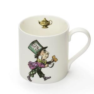 Mrs Moore 不思議の国のアリス 帽子屋 マグカップ 英国製陶磁器 Alice in Wonderland Mad Hatter Mug 英国輸入雑貨|ryoshindoshop