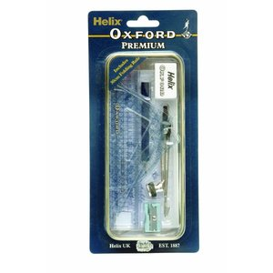 Helix へリックス Oxford プレミアムマスセット 文具10点セット レトロ缶入り Premium Maths Set B48010 イギリス人気文房具 雑貨 ステーショナリー|ryoshindoshop