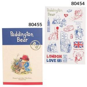 パディントンベア 横罫ノート A5ノート ロンドン柄・クラシック柄 英国人気キャラクター 文房具 雑貨 くまのパディントン Paddington Bear|ryoshindoshop