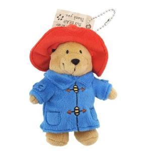 ぬいぐるみボールチェーン パディントンベア マスコット 英国人気キャラクター 雑貨 くまのパディントン Paddington Bear|ryoshindoshop