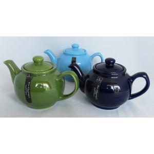 英国 プライス&ケンジントン 2カップ ティーポット 蓋口D型 Price & Kensington 2Cup Teapot 輸入雑貨 ティー用品 イギリス 陶器|ryoshindoshop