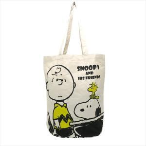 PEANUTS スヌーピー 帆布ショッピングバッグ スクール ピーナッツ 人気キャラクター チャーリーブラウン ウッドストック ES181C ryoshindoshop