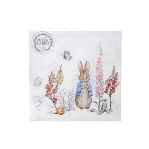 1枚ばら売り Peter Rabbit (ピーターラビット)クラシックペーパーナプキン ランチナプキン 33x33 デコパージュ 単品 ビアトリクスポター|ryoshindoshop