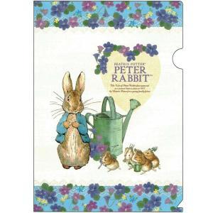 ピーターラビット A4ファイル jorro 187327 ED025-18 Peter Rabbit クリアファイル キャラクター文房具 Beatrix Potter|ryoshindoshop