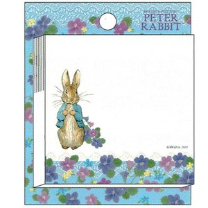 ピーターラビット のりつきメモ jorro 187235 M045-47 Peter Rabbit 60枚 付箋 ふせん キャラクター文房具 Beatrix Potter|ryoshindoshop