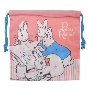 ピーターラビット newきんちゃくポーチ 兄弟 Peter Rabbit 巾着 袋|ryoshindoshop