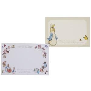 ピーターラビット ミニカード & ミニ封筒 セット ERP9 Peter Rabbit キャラクター文房具 Beatrix Potter|ryoshindoshop