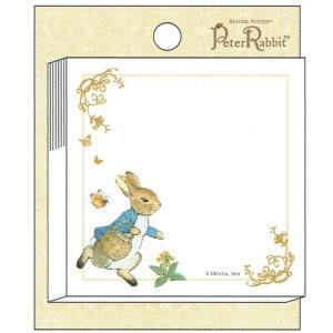 ピーターラビット のりつきメモ heart 187228 M045-46 Peter Rabbit 60枚 付箋 ふせん キャラクター文房具 Beatrix Potter|ryoshindoshop