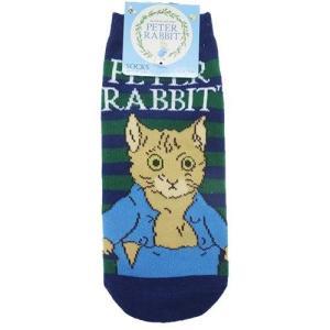 ピーターラビット レディースソックス トム BL 靴下 Peter Rabbit 22-24cm|ryoshindoshop