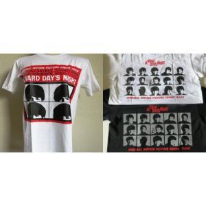 ロックTシャツ The Beatles ザ ビートルズ A HARD DAYS NIGHT 英国 イギリス UK Rock|ryoshindoshop